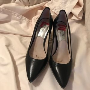 Michael Kors black heels 2.5 inches